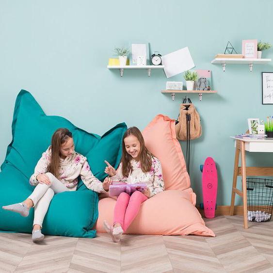 Sitzsack mit Innensack für In- und Outdoor 140 x 180 cm türkis
