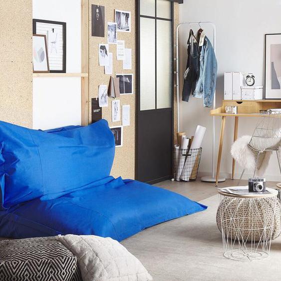 Sitzsack mit Innensack für In- und Outdoor 180 x 230 cm blau