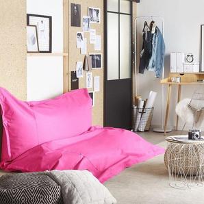 Sitzsack mit Innensack für In- und Outdoor 180 x 230 cm pink