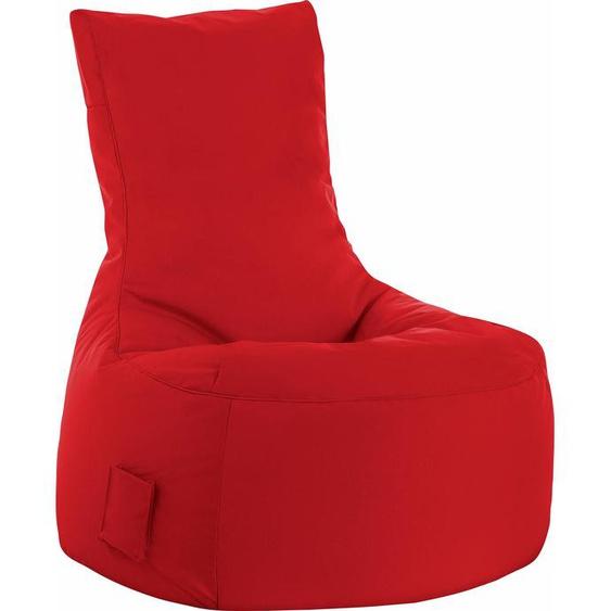Sitzsack, rot, Material Polystyrol / Polyester »Swing SCUBA«, Sitting Point