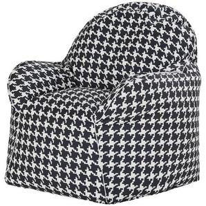 Sitzsack-Sessel  Todd ¦ schwarz ¦ Maße (cm): B: 85 H: 70 T: 80