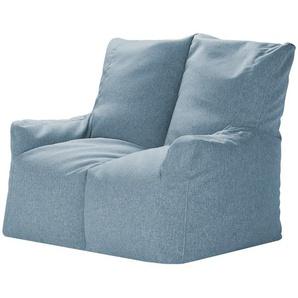 Sitzsack-Sofa  Fiete ¦ blau