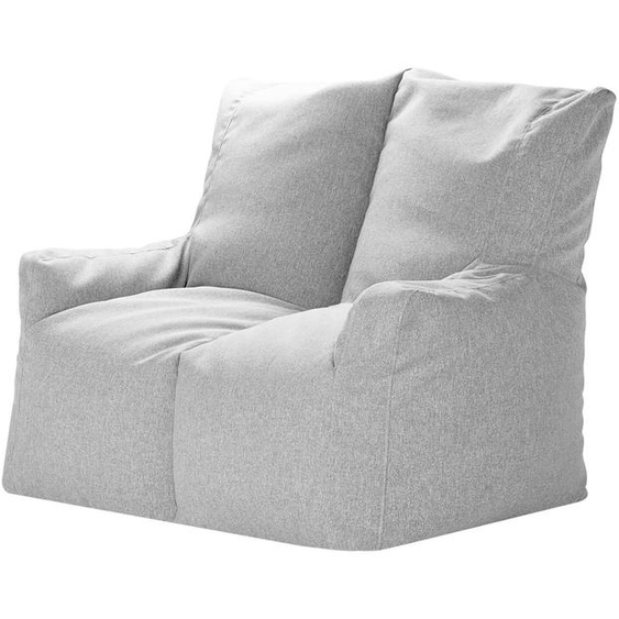 Sitzsack-Sofa - grau   Möbel Kraft