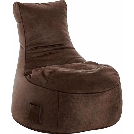Sitzsack »Swing CUBA«, braun, Material Polystyrol / Polyester, Sitting Point