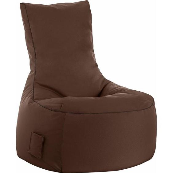 Sitzsack »Swing SCUBA«, braun, Material Polystyrol / Polyester, Sitting Point