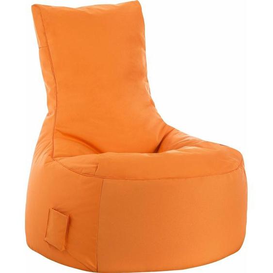 Sitzsack »Swing SCUBA«, orange, Material Polystyrol / Polyester, Sitting Point