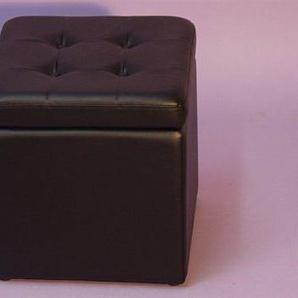 Sitzwürfel, schwarz,