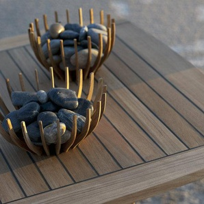 Skagerak - Ballare Tisch - Tischplatte mit Gummifugen - outdoor