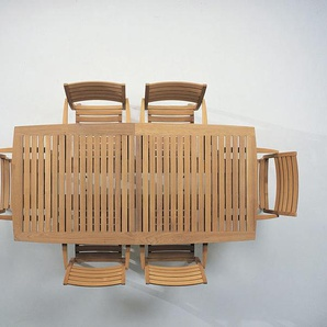 Skagerak - Ballare Tisch - Tischplatte ohne Gummifugen - outdoor
