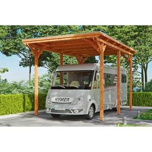 SKANHOLZ Caravan-Carport Emsland  404 x 604 cm eiche hell