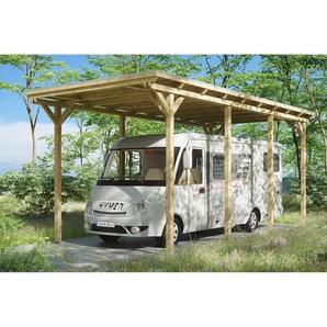 SKANHOLZ Caravan-Carport Emsland  404 x 846 cm unbehandelt