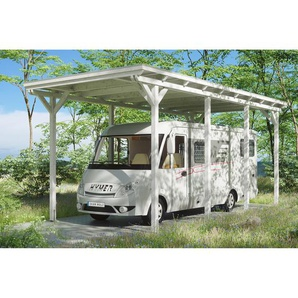 SKANHOLZ Caravan-Carport Emsland  404 x 846 cm weiß