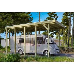 SKANHOLZ Caravan-Carport Friesland  397 x 708 cm imprägniert