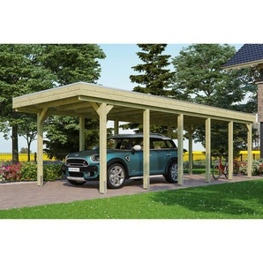 SKAN HOLZ Carport Friesland  314 x 860 cm imprägniert
