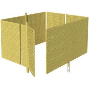 SKANHOLZ Skan Holz Abstellraum C4 für Carports 378 x 200 x 317 cm