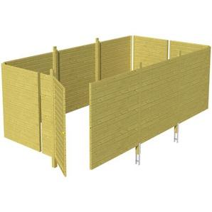 SKANHOLZ Skan Holz Abstellraum C6 für Carports 573 x 220 x 317 cm
