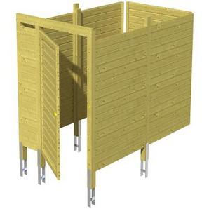 SKAN HOLZ Skan Holz Abstellraum C7 für Carports 275 x 200 x 164 cm