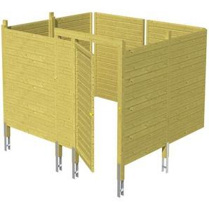 SKANHOLZ Skan Holz Abstellraum C8 für Carports 275 x 200 x 317 cm
