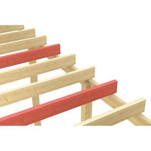 SKANHOLZ Skan Holz Schneelasterhöhung 404 x 604 cm, natur