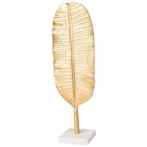 Skulptur Blatt