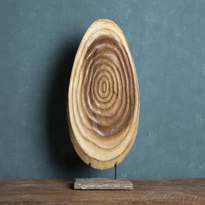 Skulptur Desmarais aus Holz