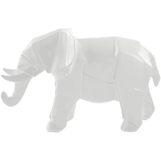 Skulptur Weiß ca. 33cm (L) x 15cm (B) x 21cm (H)