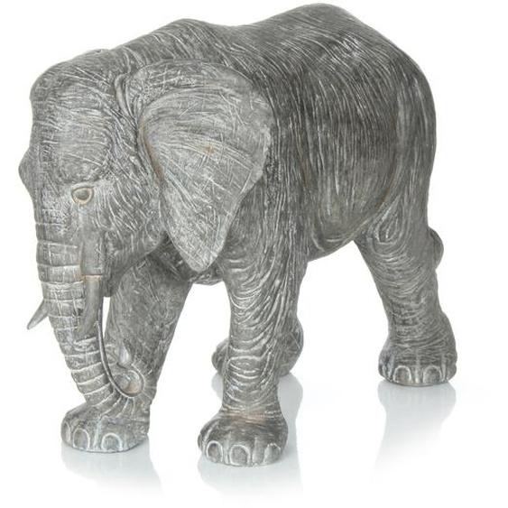 Skulptur Grau ca. 38,8cm (L) x 19cm (B) x 28cm (H)