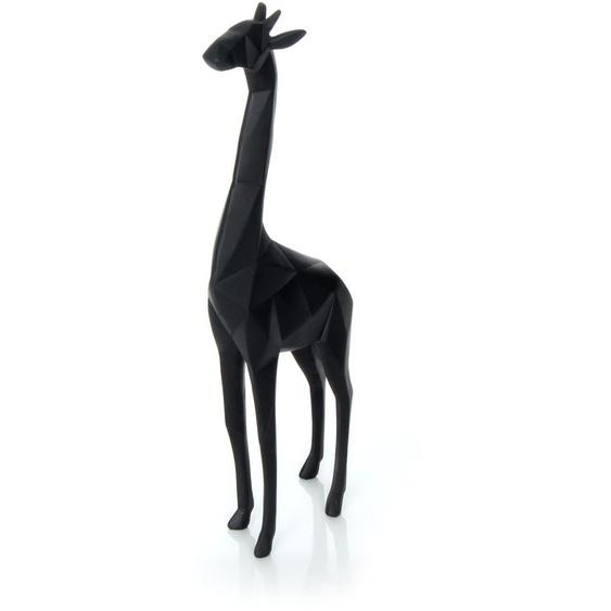 Skulptur Schwarz ca. 13,2cm (L) x 6,5cm (B) x 39cm (H)