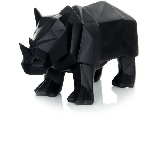 Skulptur Schwarz ca. 29,5cm (L) x 11,6cm (B) x 14,5cm (H)