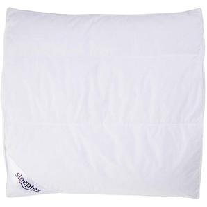 Sleeptex Kopfkissen 80/80 cm , Weiß , Textil , 80x80 cm