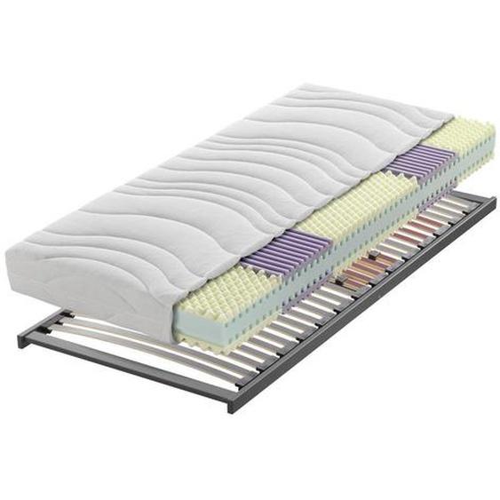 Sleeptex Matratzenset 90/200 cm , Holz , Birke, Buche , Schichtholz , H2=mittel bis ca.80kg , 90x200 cm