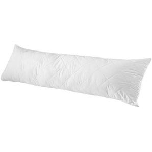 Sleeptex Seitenschläferkissen 40/140 cm , Weiß , Textil , 40x140 cm