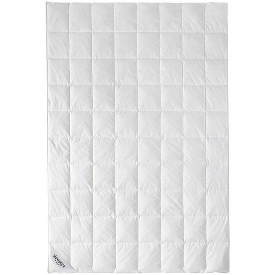 Sleeptex Sommerbett 155/220 cm , Weiß , Textil , 155 cm