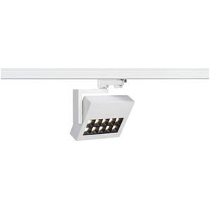 SLV LED 3-Phasen Strahler Profuno, 18W, 3000 K, 30 Grad, inklusiv Adapter, weiß 152541
