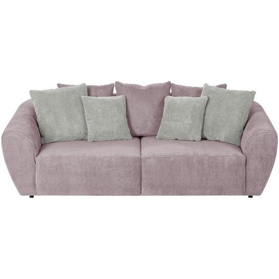 smart Big Sofa altrosa - Cordstoff Savita ¦ rosa/pink