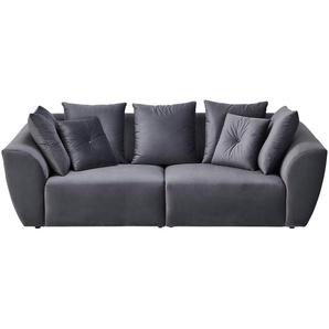 smart Big Sofa  Krista ¦ grau ¦ Maße (cm): B: 254 H: 92 T: 113