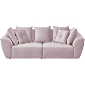 smart Big Sofa  Krista ¦ rosa/pink ¦ Maße (cm): B: 254 H: 92 T: 113