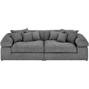 smart Big Sofa grau - Flachgewebe Lianea ¦ grau ¦ Maße (cm): B: 276 H: 78 T: 135 Polstermöbel  Sofas  Big-Sofas » Höffner