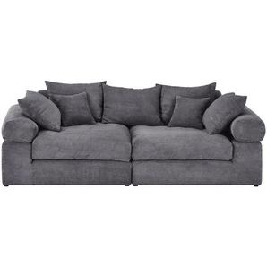 Big Sofa | grau | 240 cm | 78 cm | 120 cm | Möbel Kraft