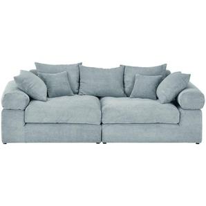 Big Sofa | grün | 240 cm | 78 cm | 120 cm | Möbel Kraft