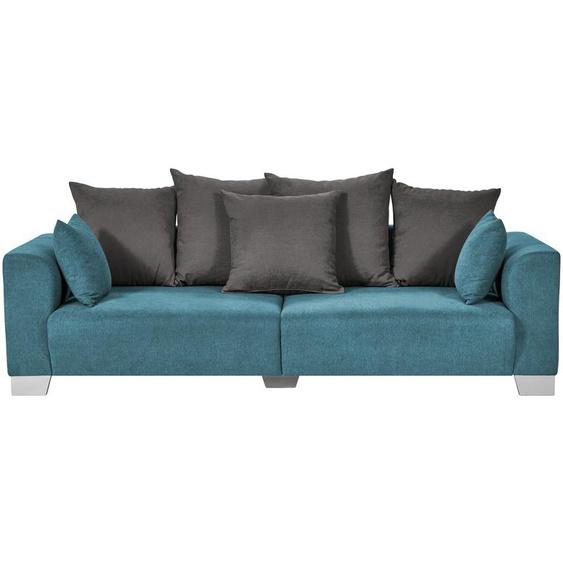 smart Big Sofa petrol - Flachgewebe Tonja ¦ türkis/petrol