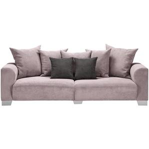 smart Big Sofa  Tonja ¦ rosa/pink ¦ Maße (cm): B: 244 H: 68 T: 107