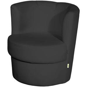 smart Cocktailsessel schwarz  Marina | schwarz | 60 cm | 69 cm | 60 cm | Möbel Kraft