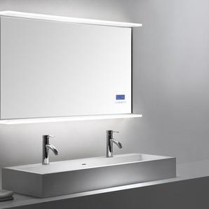 Smart Home LED Spiegel 120x65 cm mit Touch Bedienung
