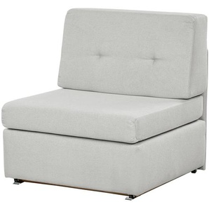 smart Schlafsessel grau - Stoff Sabia ¦ grau ¦ Maße (cm): B: 84 H: 85 T: 89 Polstermöbel  Sessel  Schlafsessel » Höffner