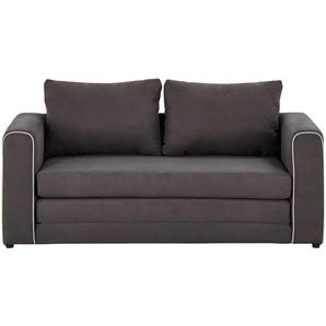 smart Schlafsofa grau - Flachgewebe Laura ¦ grau ¦ Maße (cm): B: 160 H: 69 T: 68 Polstermöbel  Sofas  2-Sitzer » Höffner