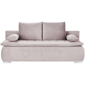 smart Schlafsofa  Leonie ¦ rosa/pink ¦ Maße (cm): B: 198 H: 92 T: 90 Polstermöbel  Sofas  Einzelsofas » Höffner