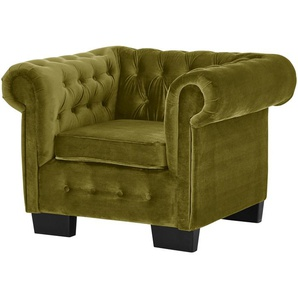 smart Sessel  Chelli ¦ grün ¦ Maße (cm): B: 102 H: 75 T: 89 Polstermöbel  Sessel  Polstersessel » Höffner