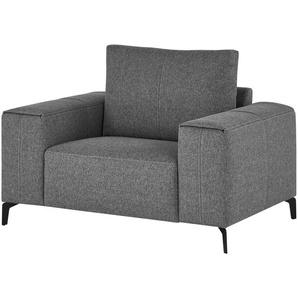 smart Sessel  Gabriela ¦ grau ¦ Maße (cm): B: 127 H: 90 T: 91 Polstermöbel  Sessel  Polstersessel » Höffner