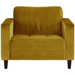 smart Sessel gelb - Stoff Geradine ¦ gelb ¦ Maße (cm): B: 91 H: 93 T: 92 Polstermöbel  Sessel  Polstersessel » Höffner